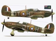 Asisbiz Hurricane I RAF 257Sqn DTH David Coke V7607 Coltinshall England Dec 1940 TC15016