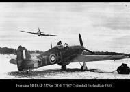 Asisbiz Hurricane I RAF 257Sqn DTH V7607 Coltinshall England late 1940