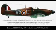 Asisbiz Hurricane I RAF 302Sqn WXC Julian Kowalski V6744 March 1941
