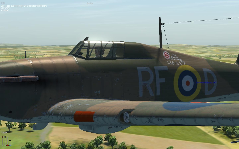 COD KF Hurricane I RAF 303Sqn RFD England 1940 V0A