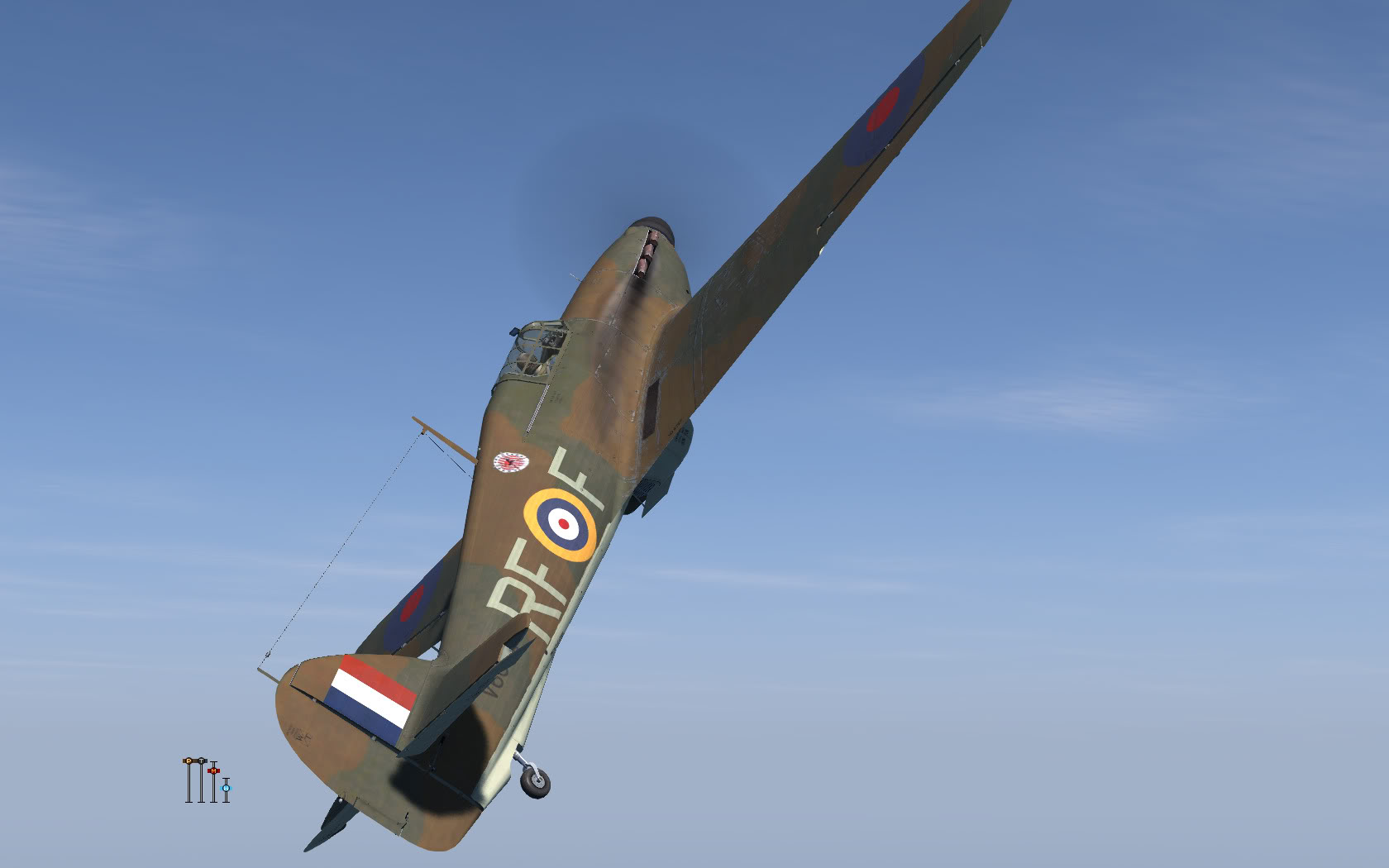 COD KF Hurricane I RAF 303Sqn RFF V6684 England 1940 V0A
