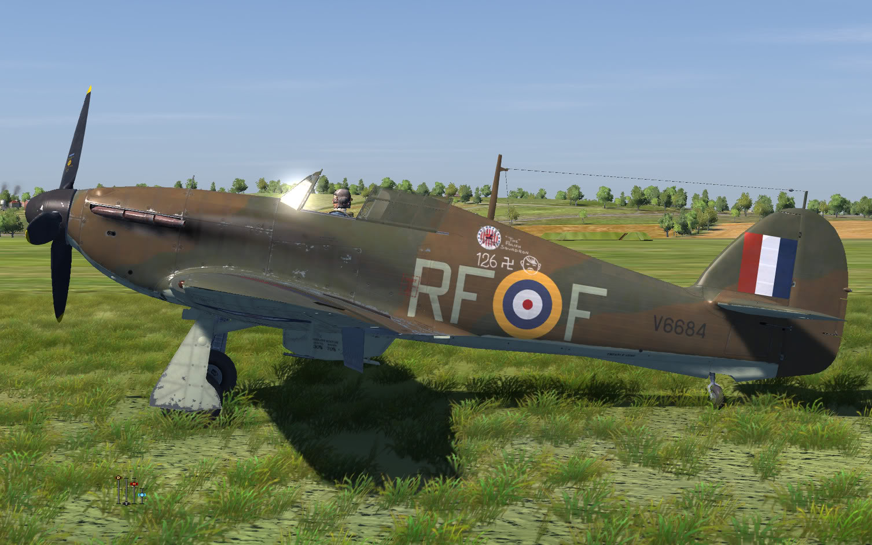 COD KF Hurricane I RAF 303Sqn RFF V6684 England 1940 V0B