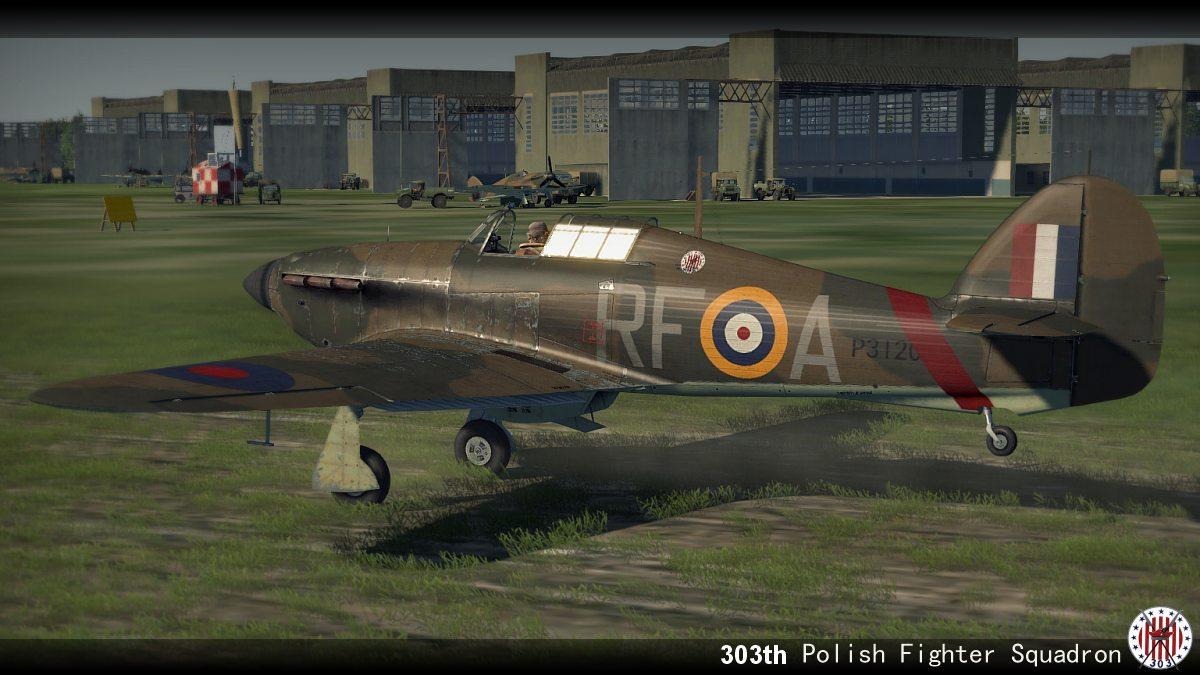 COD YO Hurricane I RAF 303Sqn RFA Henneberg P3120 England 1940 V0A