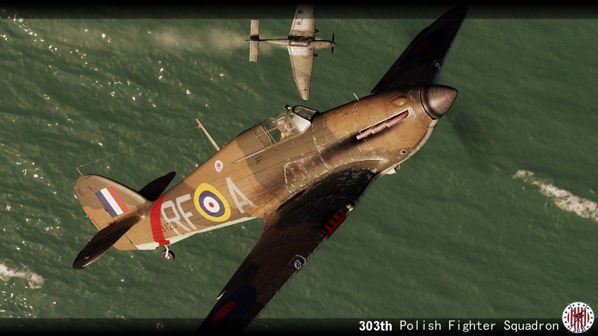 COD YO Hurricane I RAF 303Sqn RFA Henneberg P3120 England 1940 V0B