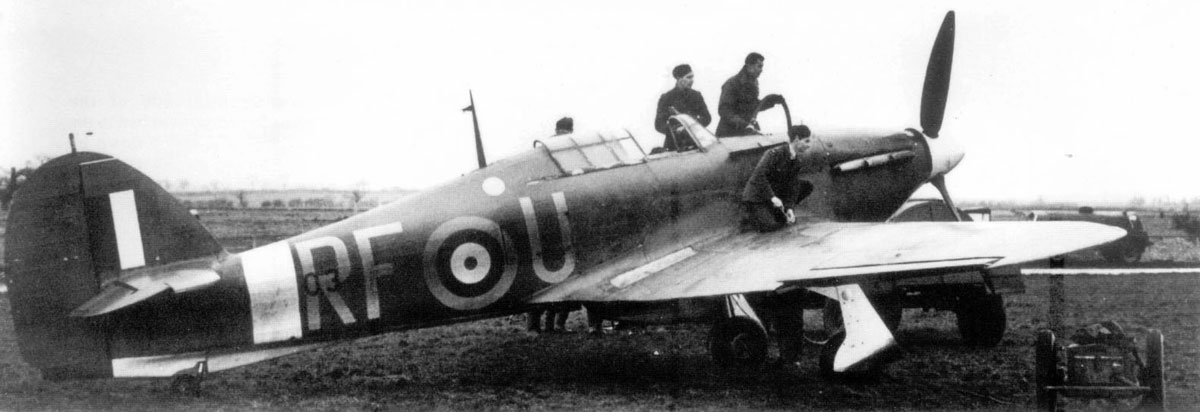 Hawker Hurricane I RAF 303Sqn RFU England 1940 01