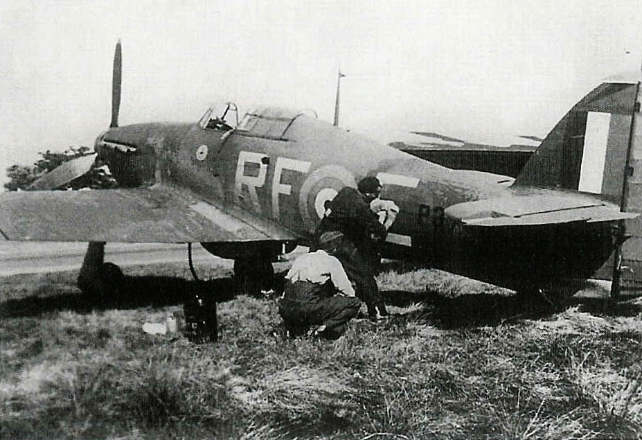 Hurricane I RAF 303Sqn RFE Miroslaw Feric P3700 England 1940 01