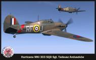 Asisbiz COD SO Hurricane I RAF 303Sqn RFJ Tadeusz Anduszkow V6665 England 1940 V0A