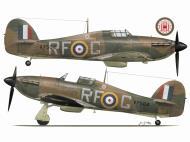 Asisbiz Hurricane I RAF 303Sqn RFG Stanislaw Karubin V7504 Aug 12th 1941 TC15016