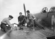 Asisbiz Hurricane I RAF 310Sqn Czech NND P3143 at Duxford Cambridgeshire 7 Sep 1940 IWM CH1297
