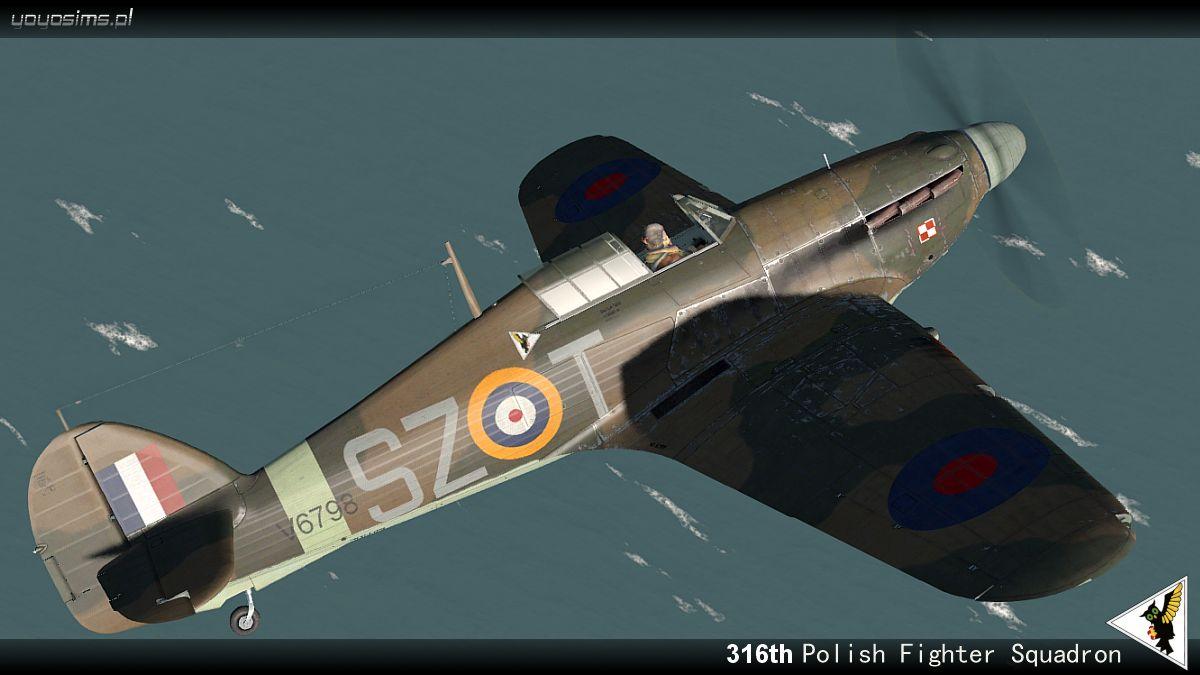 COD YO Hurricane I RAF 316Sqn SZT V6798 England 1941 V0A