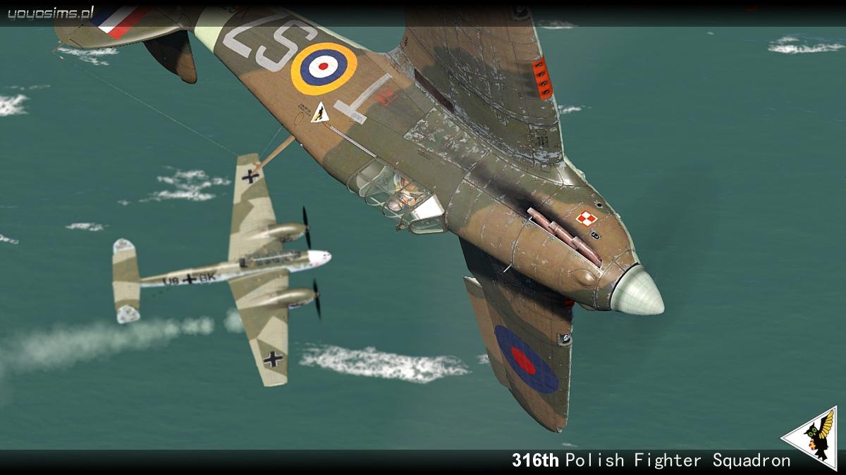 COD YO Hurricane I RAF 316Sqn SZT V6798 England 1941 V0B