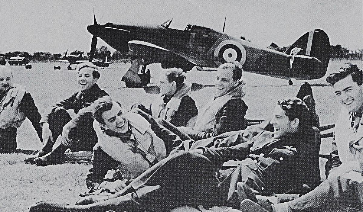Hurricane I RAF 32Sqn GZV P3522 Battle of Britain England July 1940 01