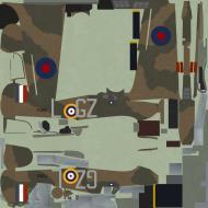 Asisbiz COD C6 Hurricane I RAF 32Sqn GZL Peter Brothers P2921 England July 1940