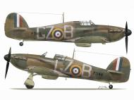 Asisbiz Hurricane I RAF 32Sqn GZB John Worrall P3144 England July 1940 TC15016