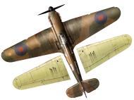 Asisbiz Hurricane I RAF 32Sqn GZB John Worrall P3144 England July 1940 TC15016B