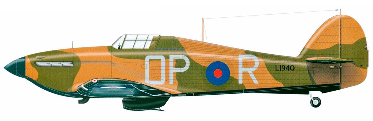 Hawker Hurricane I RAF 3Sqn OPR L1940 Kenley Enland 1939 0A