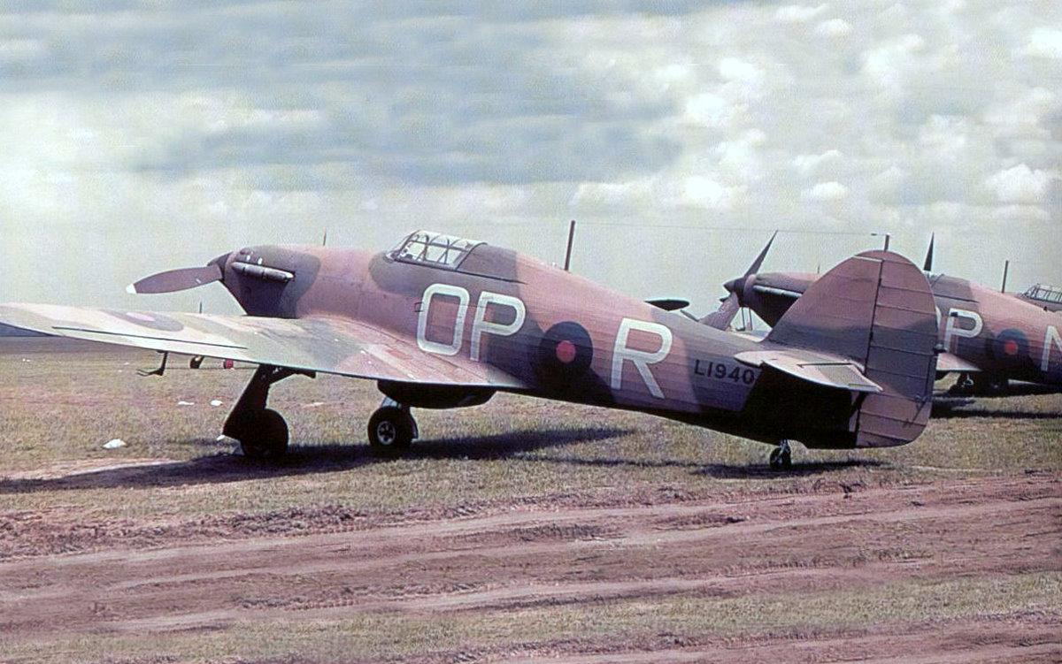 Hawker Hurricane I RAF 3Sqn OPR LI940 France 1940 01