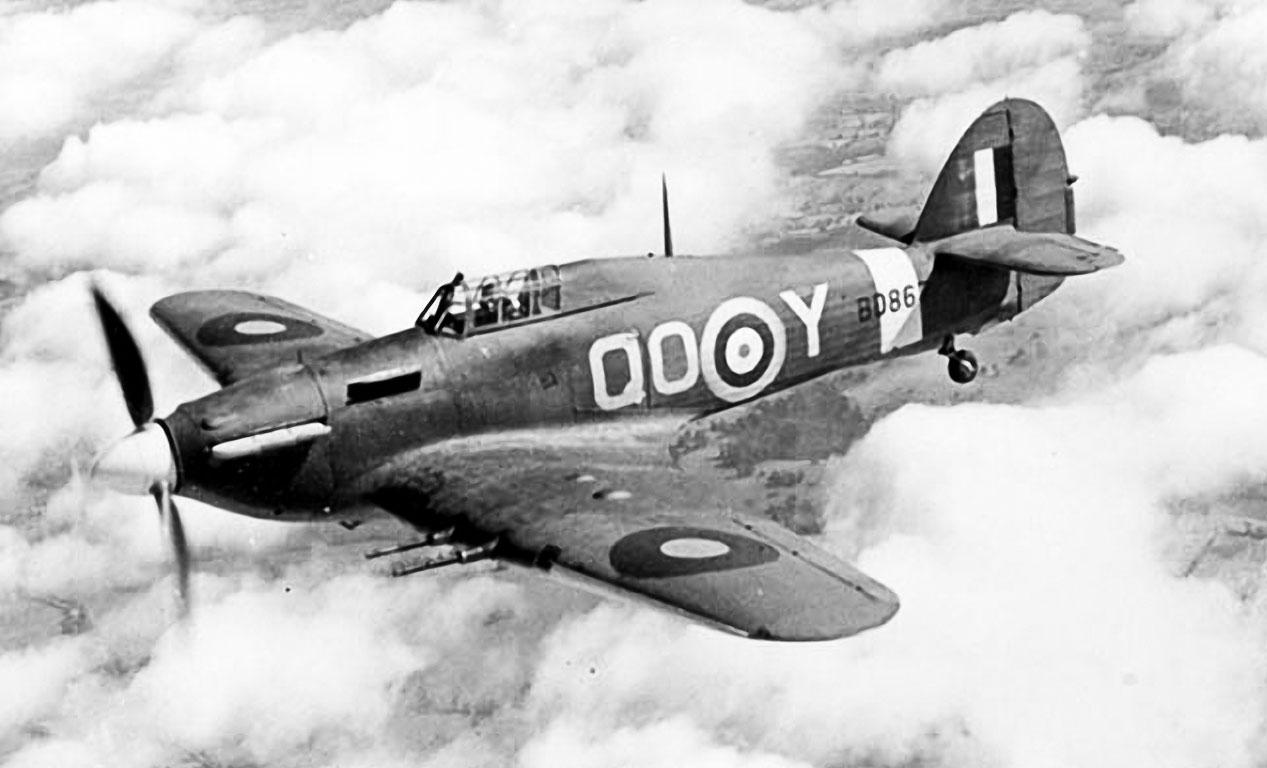 Hawker Hurricane IIc RAF 3Sqn QOY BD867 based at RAF Hundson Hertfordshire 1941 01
