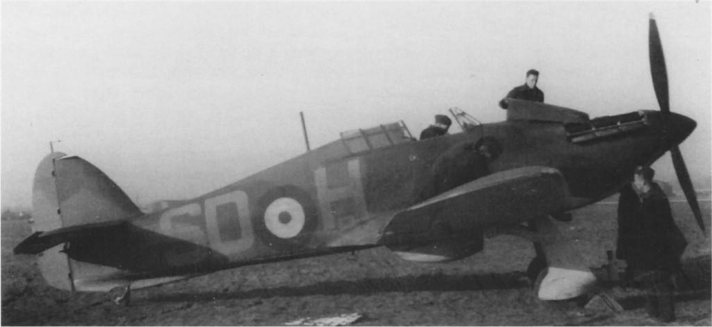 Hawker Hurricane I RAF 501Sqn SDH Don McKay L2124 England 1940 01