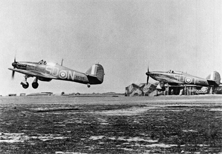 Hawker Hurricane I RAF 501Sqn SDN Lee P3059 England 1940 02
