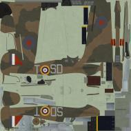 Asisbiz COD C6 Hurricane I RAF 501Sqn SDT Bland P3208 England 1940