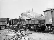 Asisbiz Hurricane I RAF 501Sqn SDA France 1940 IWM C1674