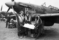 Asisbiz Hurricane I RAF 56Sqn USV Punjab at Duxford 2 Jan 1942 IWM CH4547