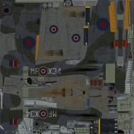 Asisbiz COD KF Hurricane I RAF 59OTU MF X34 V7173 Turnhouse 1943