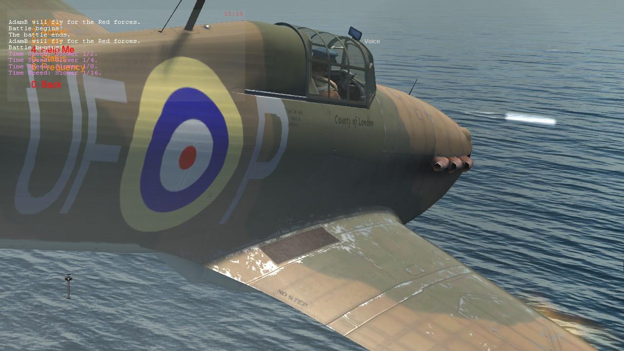 COD PD Hurricane I RAF 601Sqn UFP England 1940 V0A