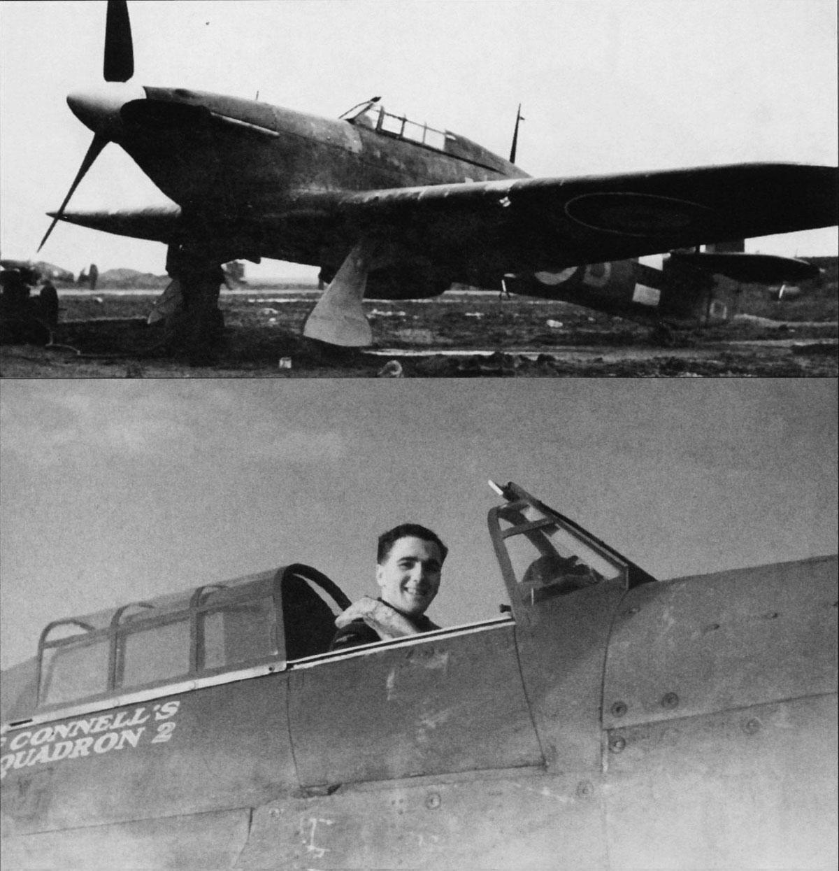 Hurricane IIa RAF 601Sqn UFB McConnell Z2817 Thaxted Essex England 1941 01
