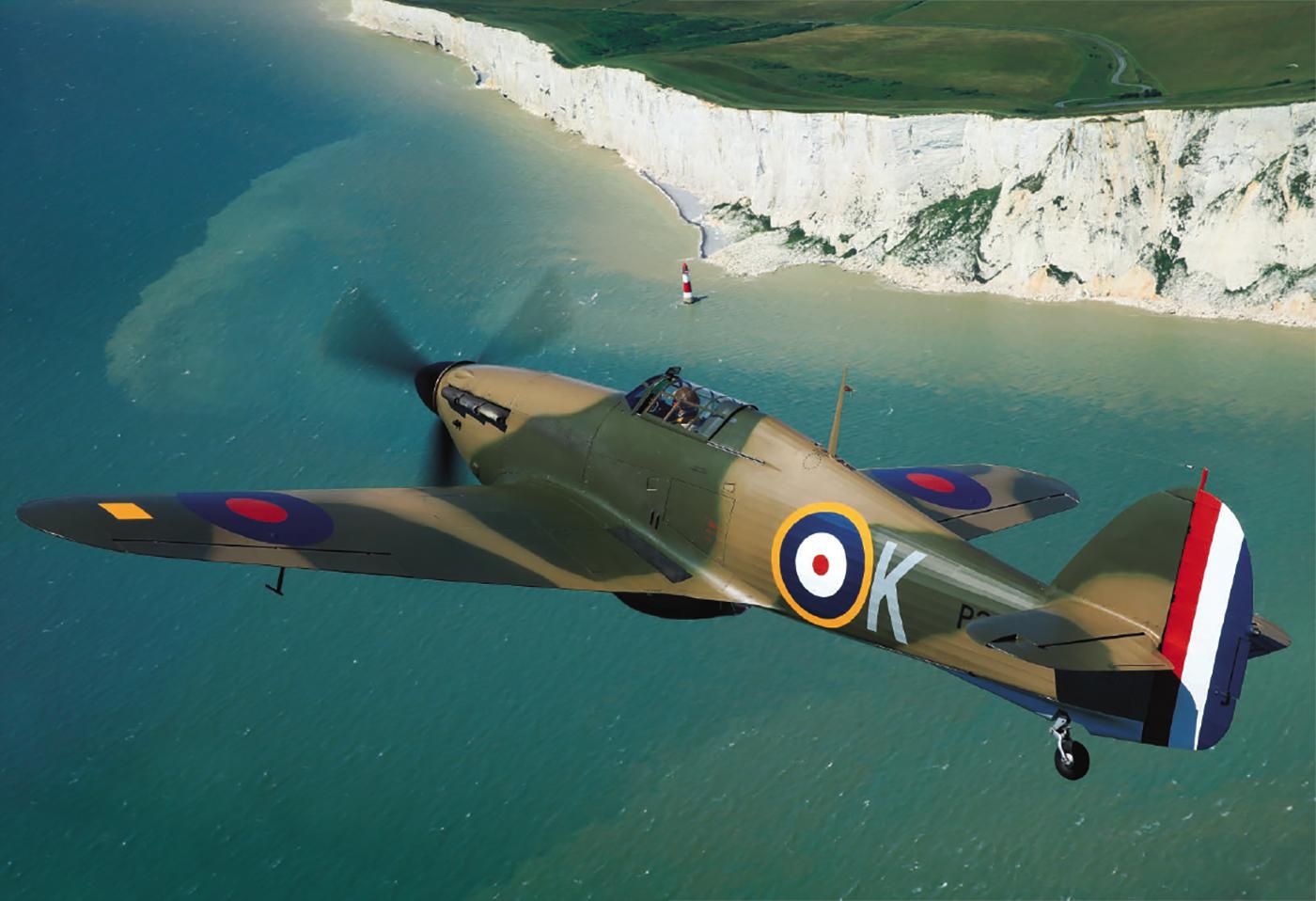 Sea Hurricane BW881 as Hurricane I RAF 601Sqn UFK P3886 Battle of France 01