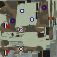 Asisbiz COD PD Hurricane I RAF 601Sqn UFP England 1940
