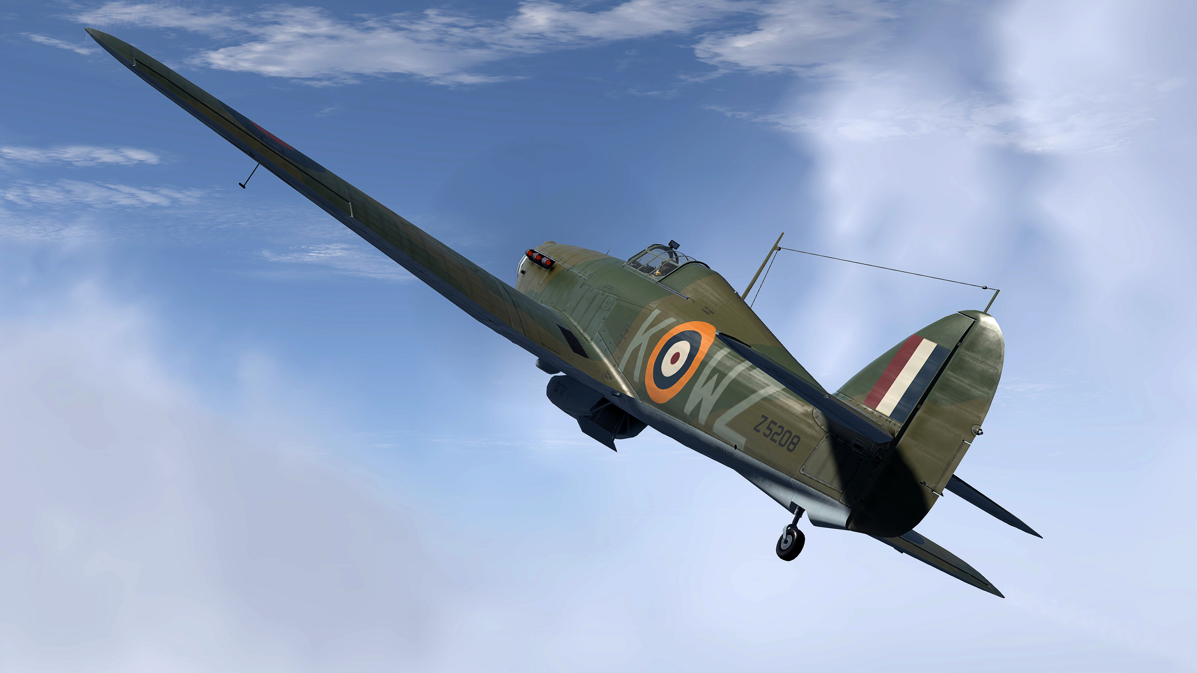 COD MS Hurricane II RAF 615Sqn Eric Carter Z5208 Northolt Oct 1940 V01