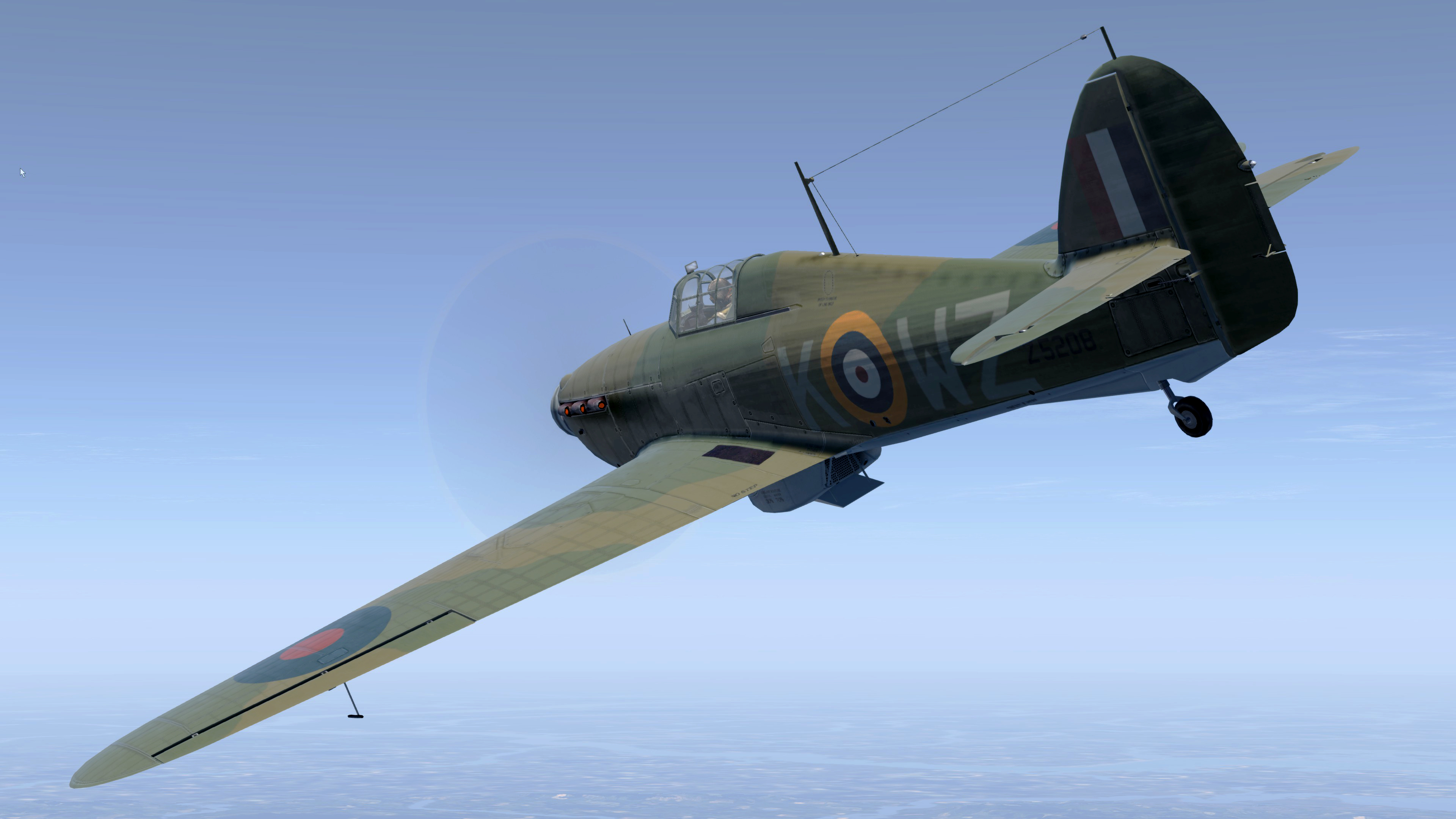COD MS Hurricane II RAF 615Sqn Eric Carter Z5208 Northolt Oct 1940 V02