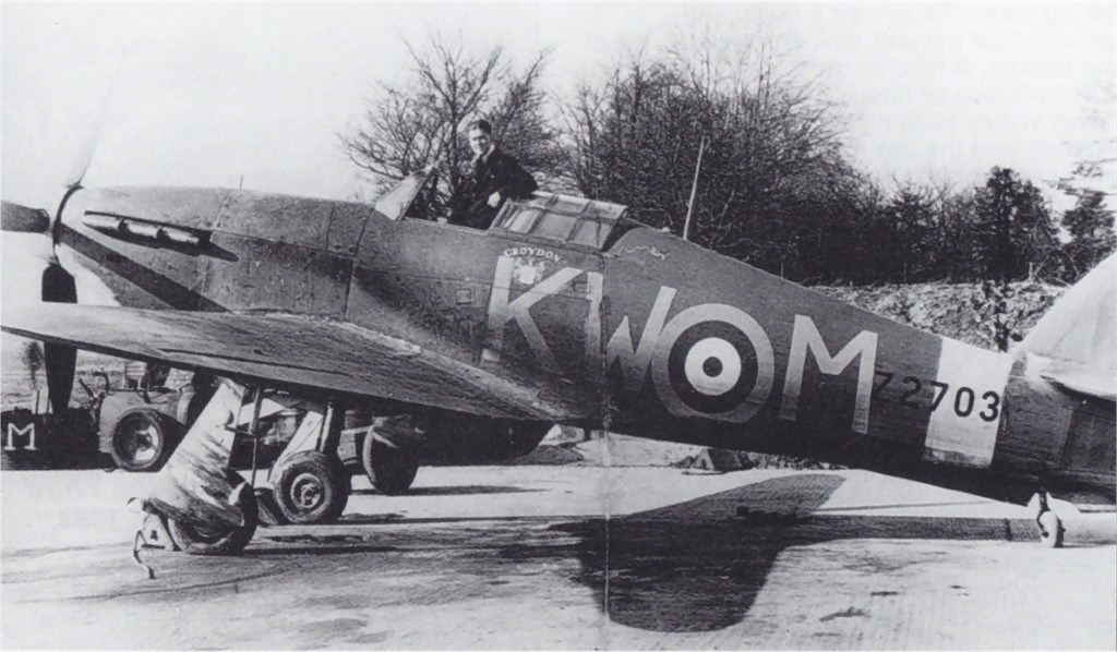 Hawker Hurricane IIa RAF 615Sqn KWM Croydon Z2703 England 1941 01
