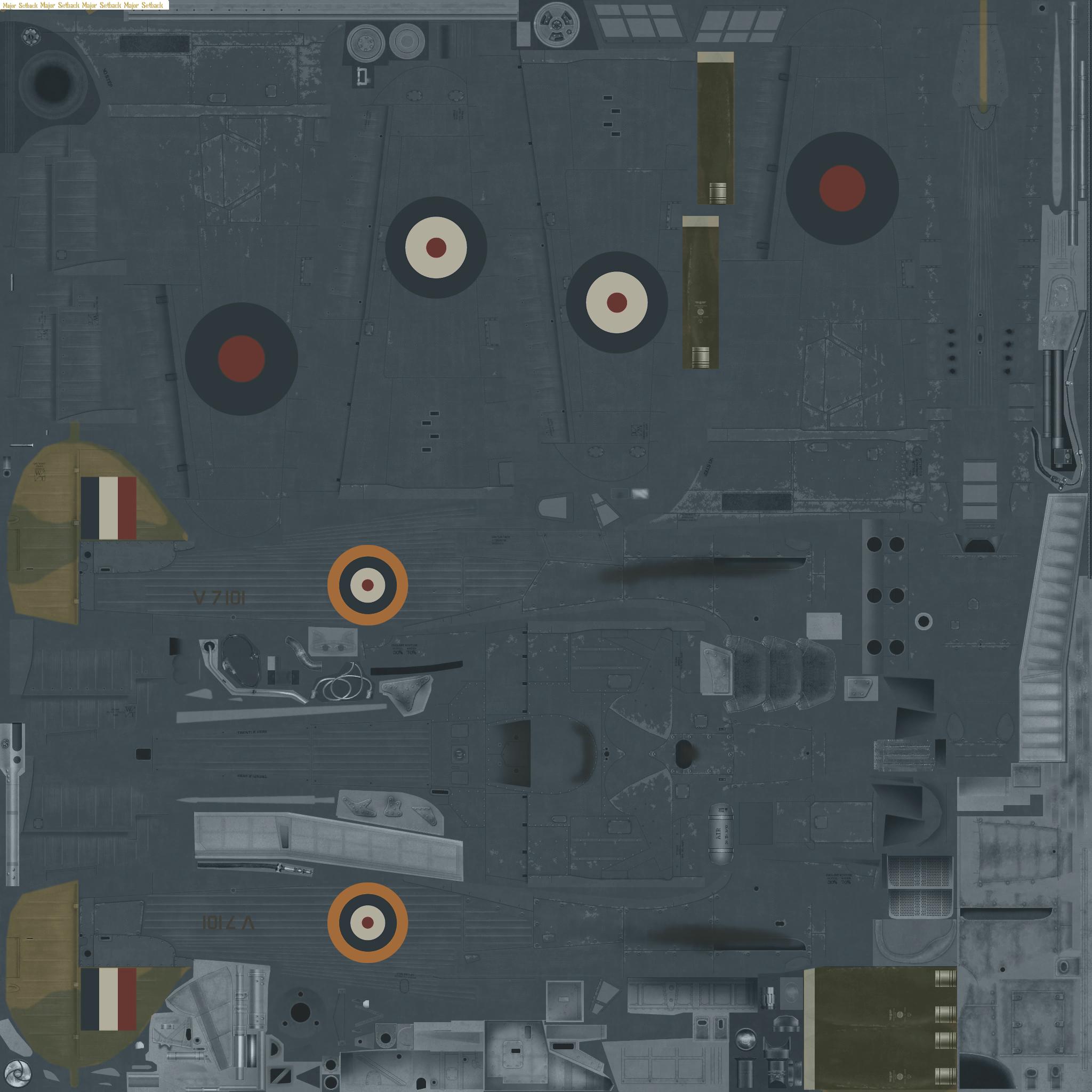 COD MS Hurricane I RAF 69Sqn Flt Lt G Burges V7101 Malta May 1941