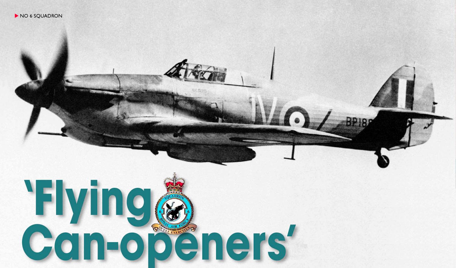Hawker Hurricane IId Trop RAF 6Sqn JVZ BP188 Battle of El Alamein Egypt 1942 01