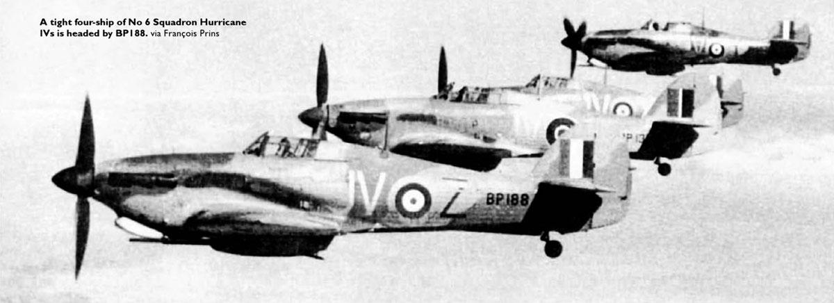 Hawker Hurricane IId Trop RAF 6Sqn JVZ BP188 Battle of El Alamein Egypt 1942 02