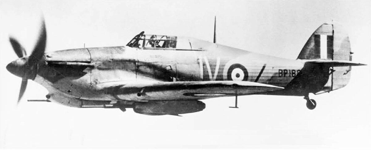 Hawker Hurricane IId Trop RAF 6Sqn JVZ BP188 Battle of El Alamein Egypt 1942 03