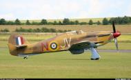 Asisbiz Airworthy Hawker Hurricane II warbird G HURY marked as RAF 6Sqn JV N KZ321 airshow collection 06