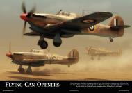 Asisbiz Artwork titled Flying Can Openers by finesthourart published in Aviation Classics 0A