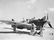 Asisbiz Hawker Hurricane IV RAF 6Sqn being serviced on an airfield in Italy probably Foggia 01