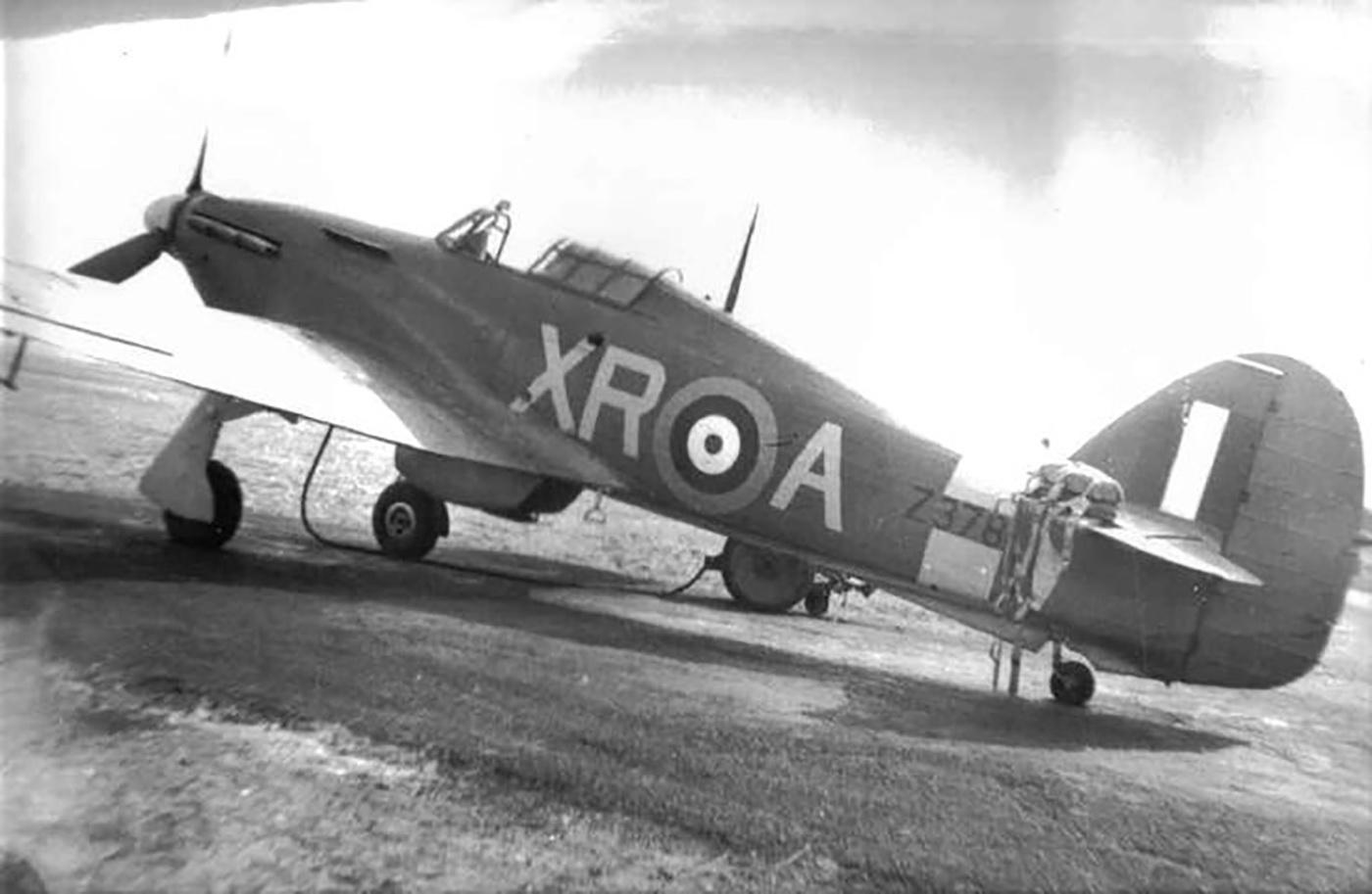 Hawker Hurricane I RAF 71Sqn XRA FLt George A Brown Z3781 England 1941 01