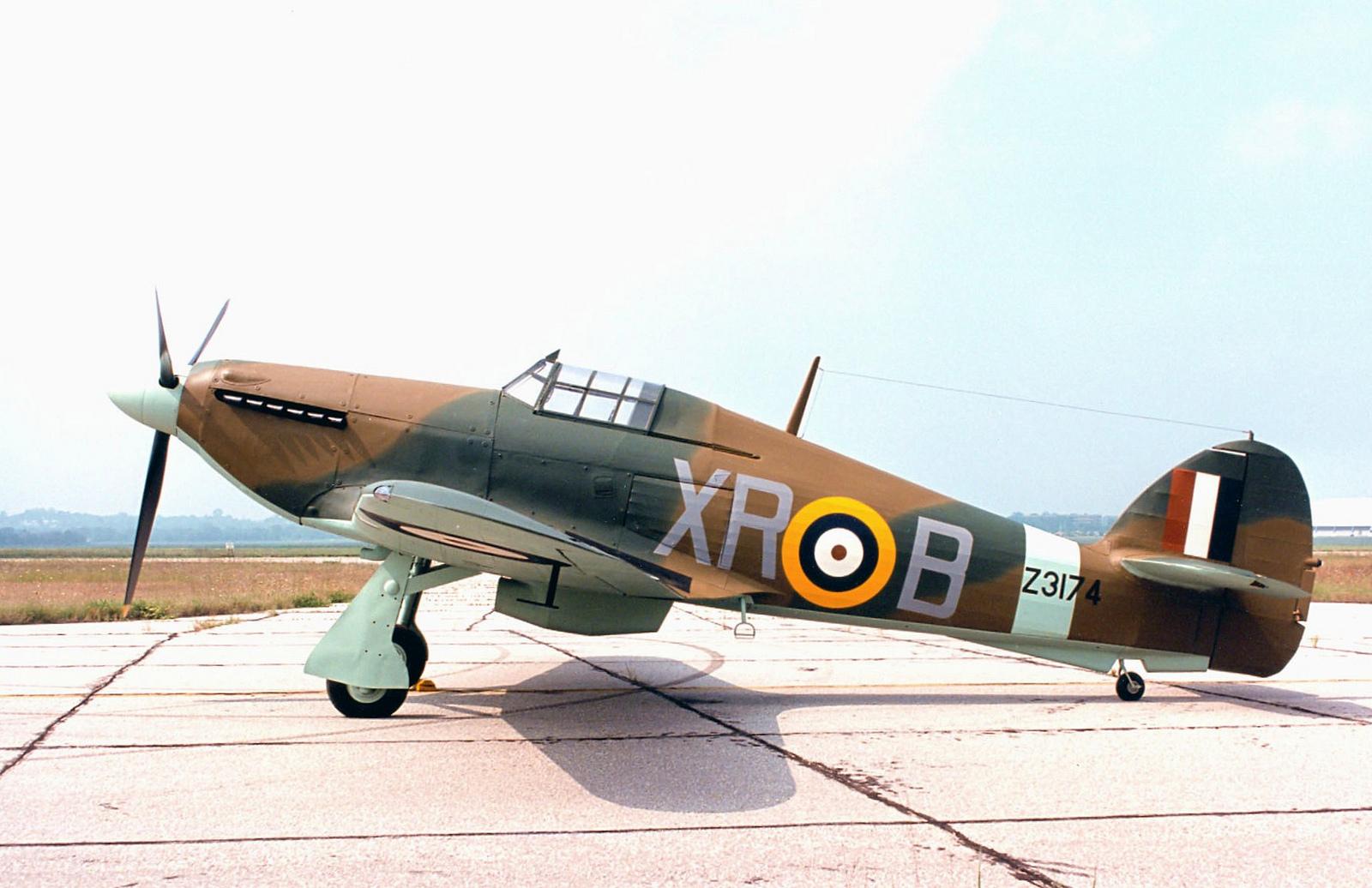 Hawker Hurricane I RAF 71Sqn XRB Z3174 preserved warbird 01