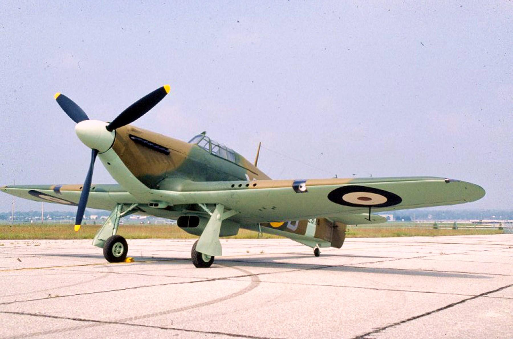 Hawker Hurricane I RAF 71Sqn XRB Z3174 preserved warbird 02