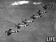 Asisbiz Hawker Hurricane II RAF 71Sqn formation shot LIFE 01
