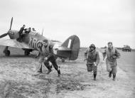 Asisbiz Hurricane I RAF 71Sqn at Kirton in Lindsey 17 Mar 1941 IWM CH2401