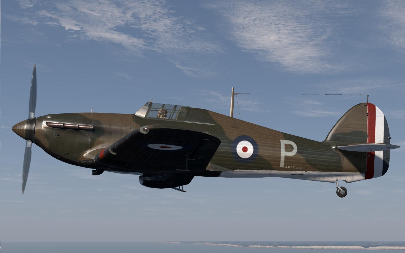 COD C6 I RAF 73Sqn P Paddy III flown by PO EJ Kain France 1940 V0A