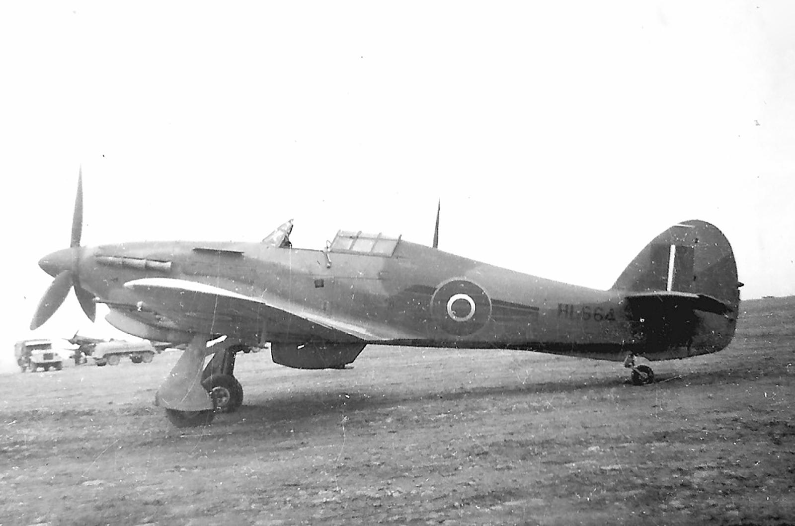 Hawker Hurricane IITrop RAF 73Sqn HL664 ebay 01