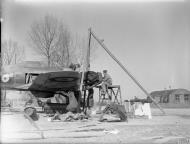 Asisbiz Hawker Hurricane I RAF 73Sqn TPF at Rouvres France 1940 IWM C880